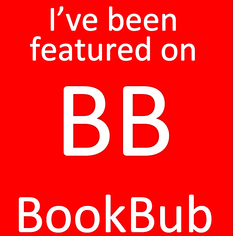 I've been featured on BookBub